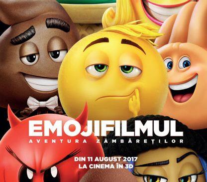 """Începe """"EmojiFilmul: Aventura Zâmbăreților"""""""