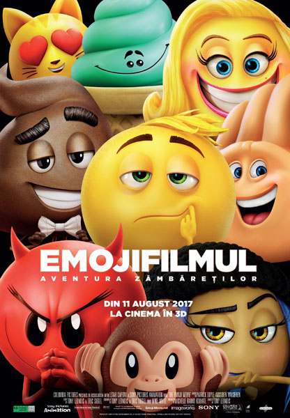 afis EmojiFilmul Aventura Zambaretilor