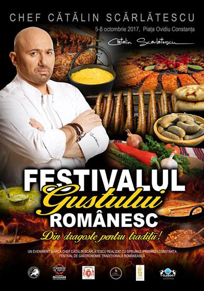 afis Festivalul gustului romanesc
