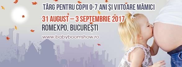 Baby Boom Show incepe din 31 august la ROMEXPO
