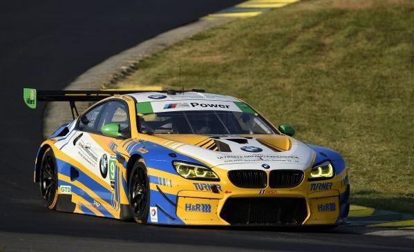 BMW Team RLL a încheiat pe locurile al patrulea şi al nouălea în Michelin GT Challenge la VIR