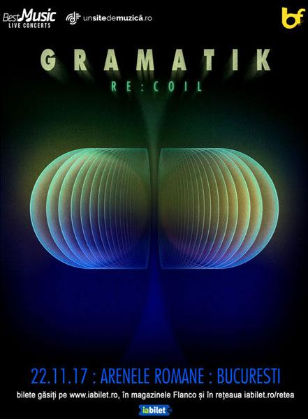 concert GRAMATIK 22 noiembrie