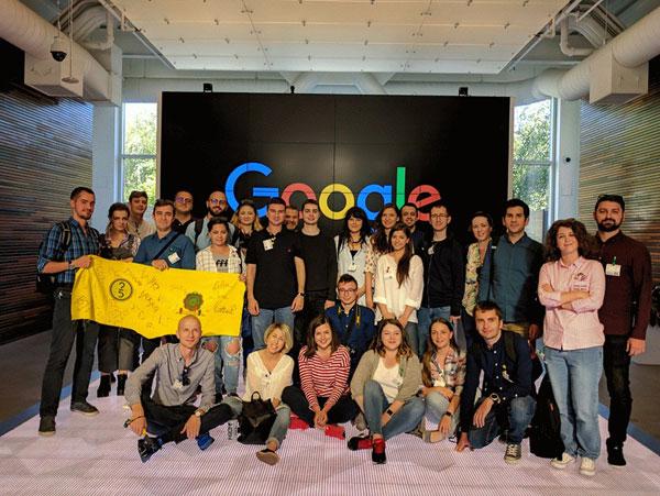 eMAG Future 25, vizita la Google