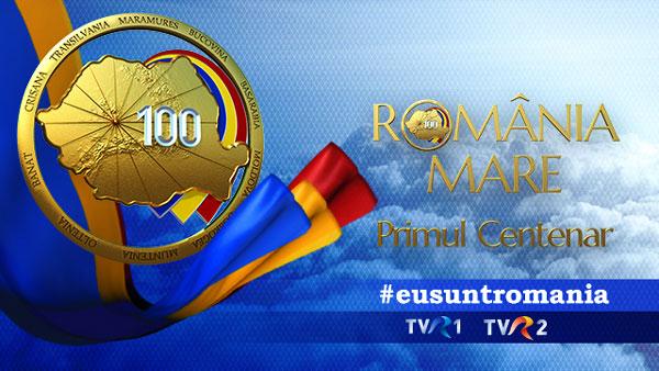 grafica Romania Mare, primul Centenar