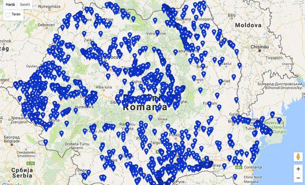 Recensământul berzelor albe susținut de companiile Enel din România a dus la identificarea a peste 1.000 de cuiburi noi