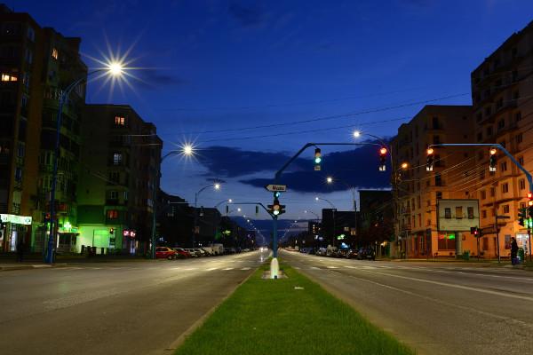 Iluminat stradal LED Philips