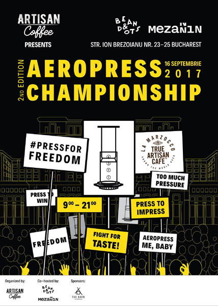 inscrieri la Campionatul National de Aeropress