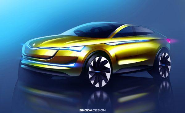 Premiera europeană a conceptcar-ului ŠKODA VISION E la salonul auto IAA
