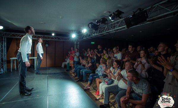 Pascal Bruckner, Romeo Castellucci și compania israeliană MASH, în cea de-a două săptămână UNDERCLOUD