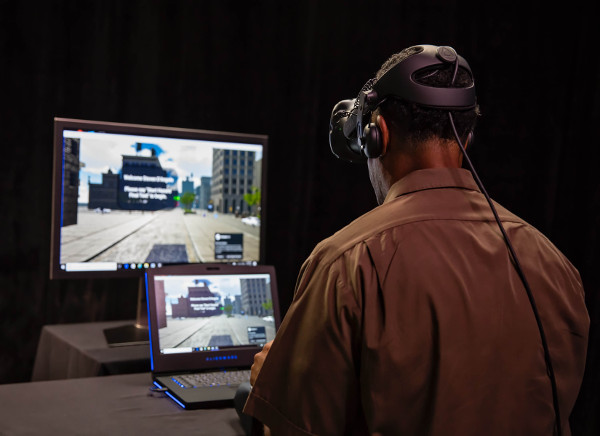 UPS Virtual reality trainer