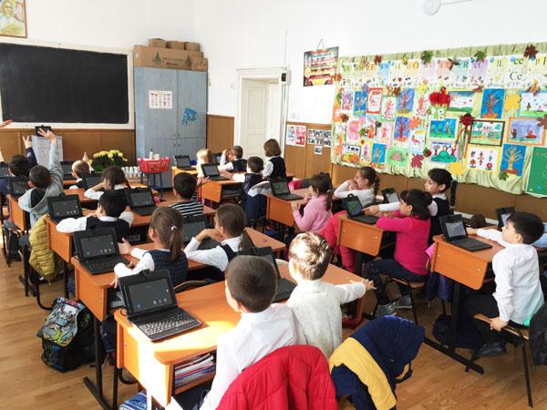 Adservio, clasa interactiva