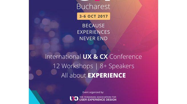 Timp de patru zile, experiențele bune s-au ținut lanț la UX Bucharest 2017