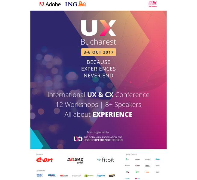 Afis Conferinta UX