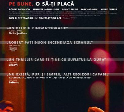 """Robert Pattinson, incendiar în cel mai nou thriller al fraților Safdie """"GOOD TIME"""" – din 8 septembrie în cinematografe"""