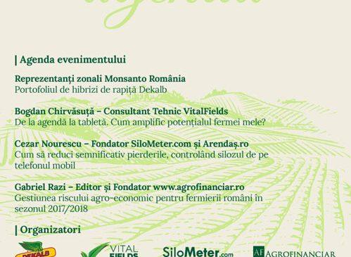 Eveniment în agribusiness: Conferință pentru creșterea fermei tale