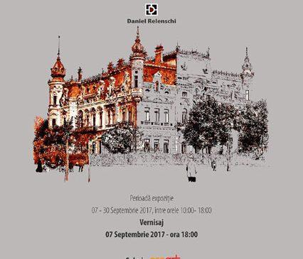 """""""Am fost aici, sunt aici"""", prima expoziție în București a pictorului Daniel Relenschi, primul pictor 3D din România"""