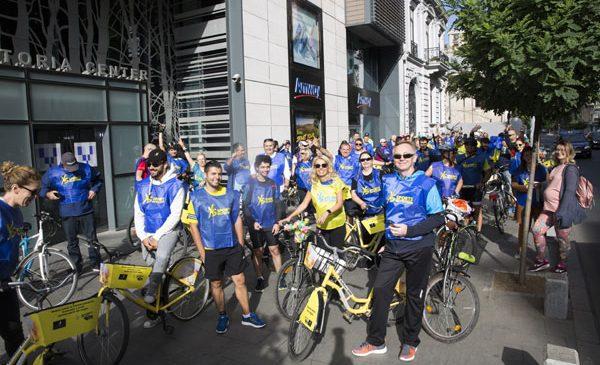 Cu ocazia Săptămânii Europene a Mobilității, partenerii Amway au pedalat pentru promovarea unui stil de viață sănătos