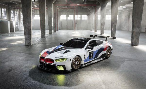 Pe circuit înainte de showroom: BMW M8 GTE pregătiri pentru prima cursă