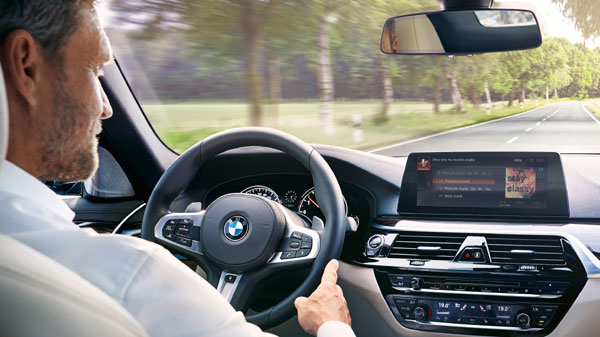 BMW and Alexa in-car