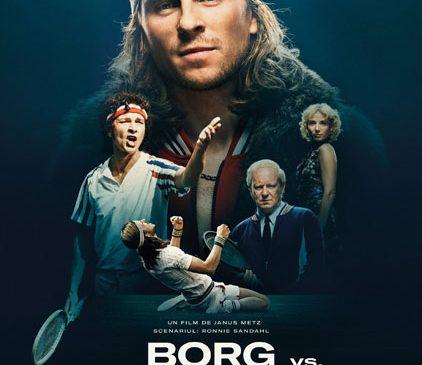 """""""Borg vs. McEnroe: Înfruntarea secolului"""" se joacă din 29 septembrie 2017, la cinema"""