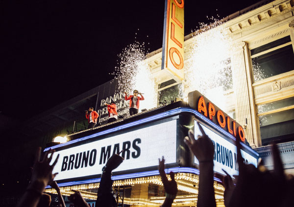 Bruno Mars, 24K Magic Live la Apollo