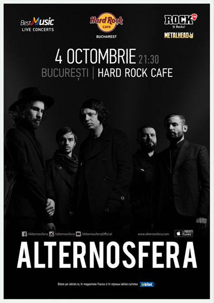 Concert Alternosfera la Hard Rock Cafe