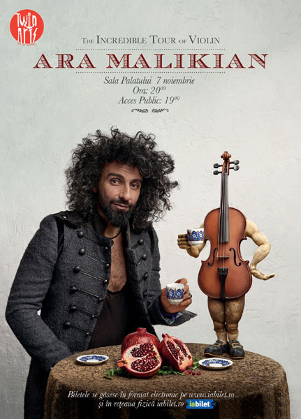 Concert Ara Malikian 7 noiembrie