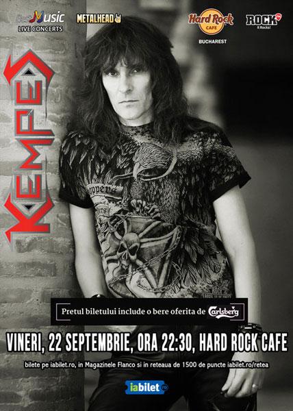 Concert KEMPES pe 22 septembrie
