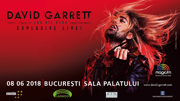 David Garrett, Explosive Live 2018