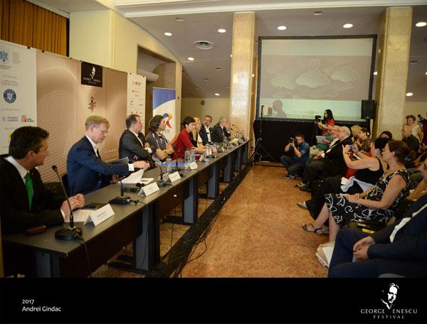 Deschiderea Festivalului International George Enescu 2017, conferinta