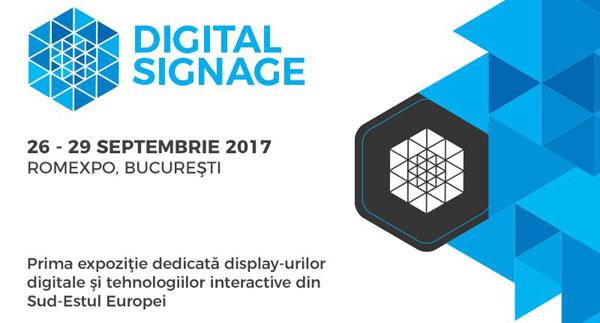 Digital Signage – Saptamana 18-22 septembrie