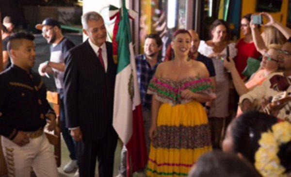Petrecere autentică mexicană de Ziua Națională a Mexicului