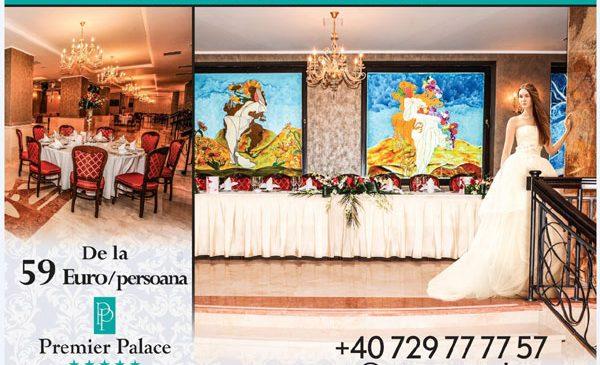 Locatii de 5 stele pentru evenimentul tau: Premier Palace Spa Hotel si Palatul Odeon Imperial Glamour