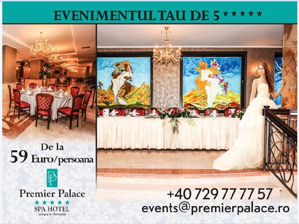 Evenimente lifestyle la Premier Palace Spa Hotel