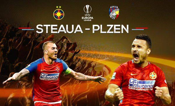 Joi, de la 22:00, PRO TV transmite FCSB – Viktoria Plzen