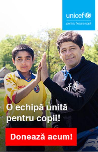 FRF si UNICEF Impreuna, o echipa pentru copii