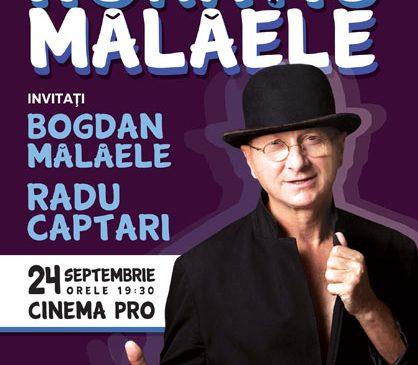 """Invitație la spectacol: Duelul comic între Horațiu și Bogdan Mălăele, în """"Ediție Specială"""", pe 24 septembrie, la Cinema PRO"""