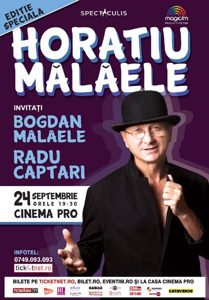 Horatiu Malaele, Editite speciala, 24 septembrie
