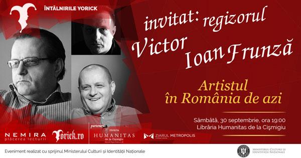Întâlnire cu Victor Ioan Frunză