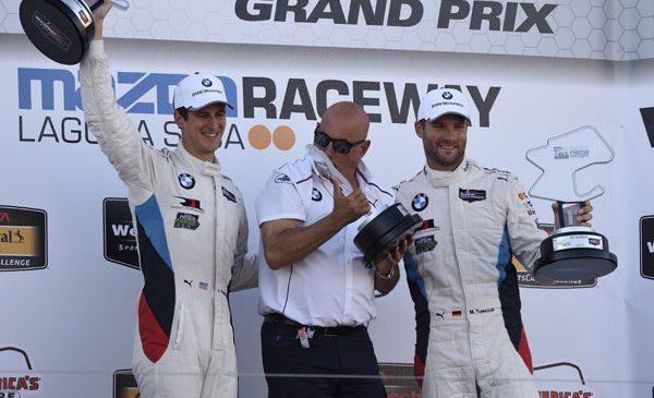 John Edwards şi Martin Tomczyk a dus #24 BMW M6 GTLM spre o victorie palpitantă la Laguna Seca