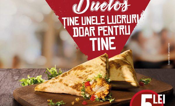 KFC aduce din nou Duetos – wrapurile pe care să le ţii doar pentru tine