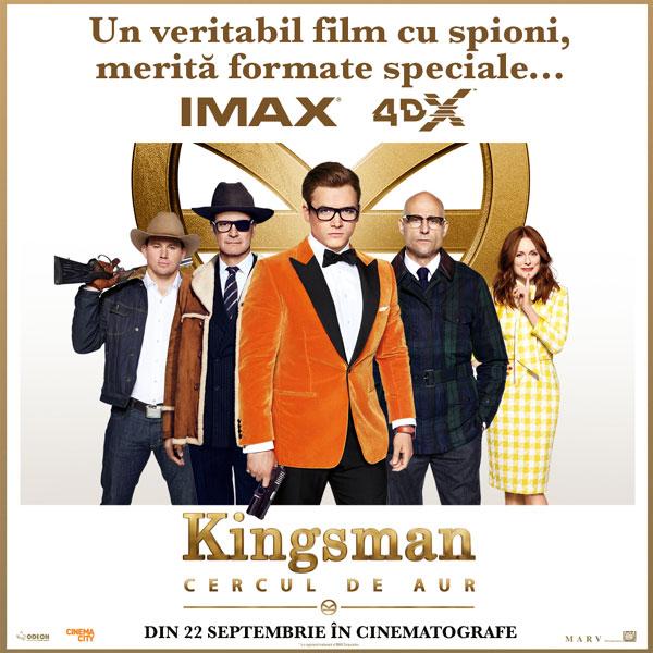 Kingsman The Golden Circle, IMAX 4DX Poster