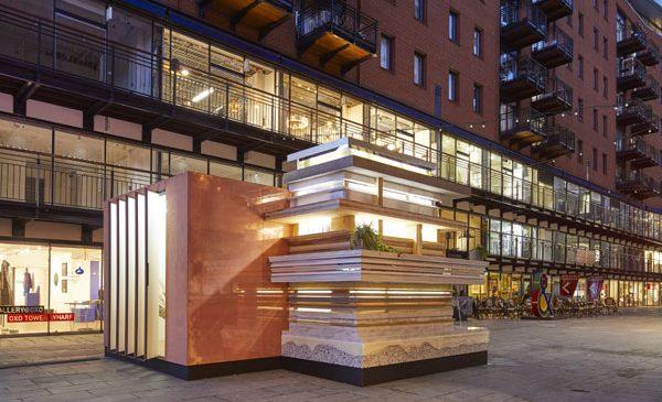 MINI UK prezintă: MINI LIVING URBAN CABIN la Festivalul de Design de la Londra 2017