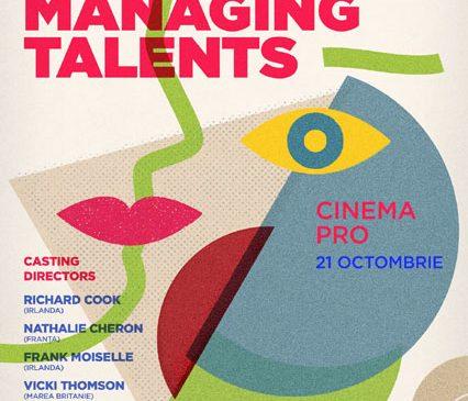 Directori de casting renumiți vin la București pentru a doua ediție Managing Talents