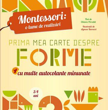 Prima mea carte despre forme Montessori