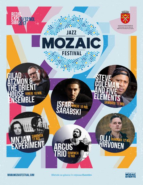 Mozaic Jazz Festival 2017 poster all