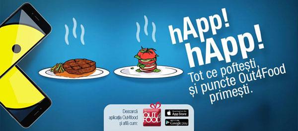 Out4Food, aplicația care te ajută să economisești timp și bani când iei masa în oraș