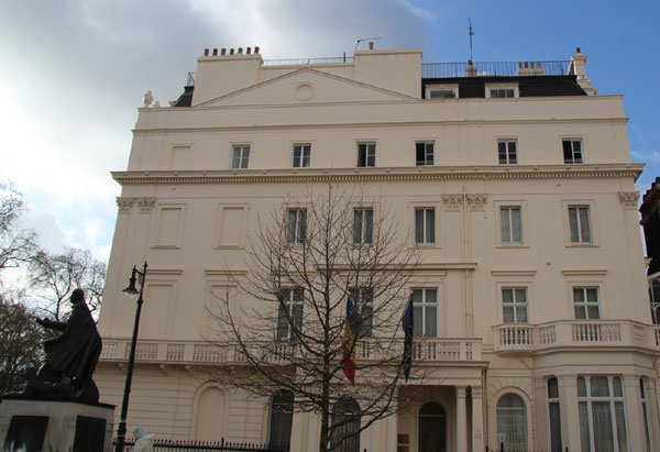 Palatul romanesc din inima Londrei