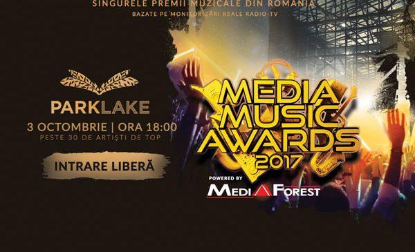 ParkLake găzduiește în premieră cea mai mare gală de premii muzicale din România – Media Music Awards