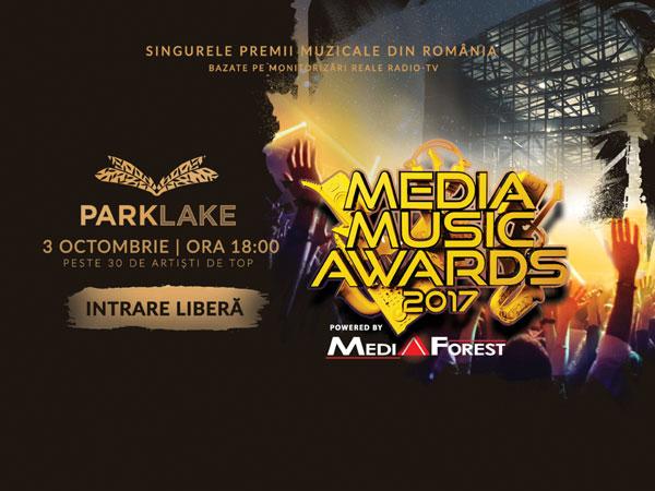 ParkLake gazduieste Media Music Awards